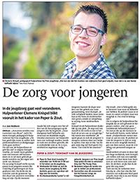 Krantenartikel Clemens Knispel