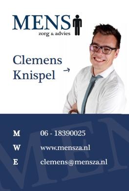 Visitekaartje Clemens Knispel